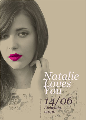 Natalie Loves You (support Liam Campbell)