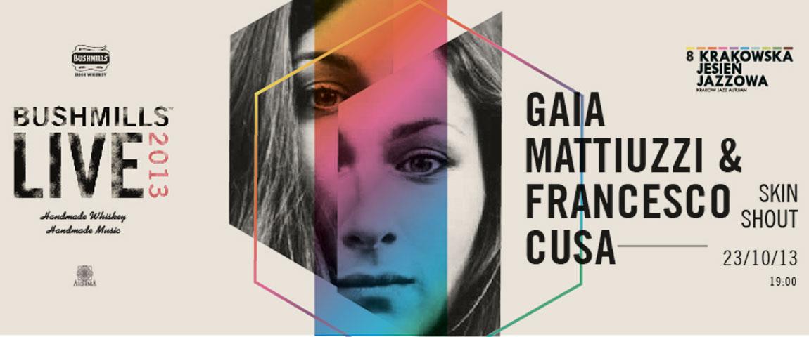 GAIA MATTIUZZI & FRANCESCO CUSA – Krakow Jazz Autumn 2013