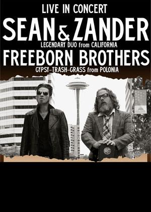 Sean Wheeler i Zander Schloss & Freeborn Brothers