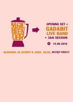 MUSIC BLENDER – Gadabit + Jam Session