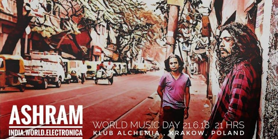 ASHRAM (Indie) & JAROZ & SOSNA – World Music Day